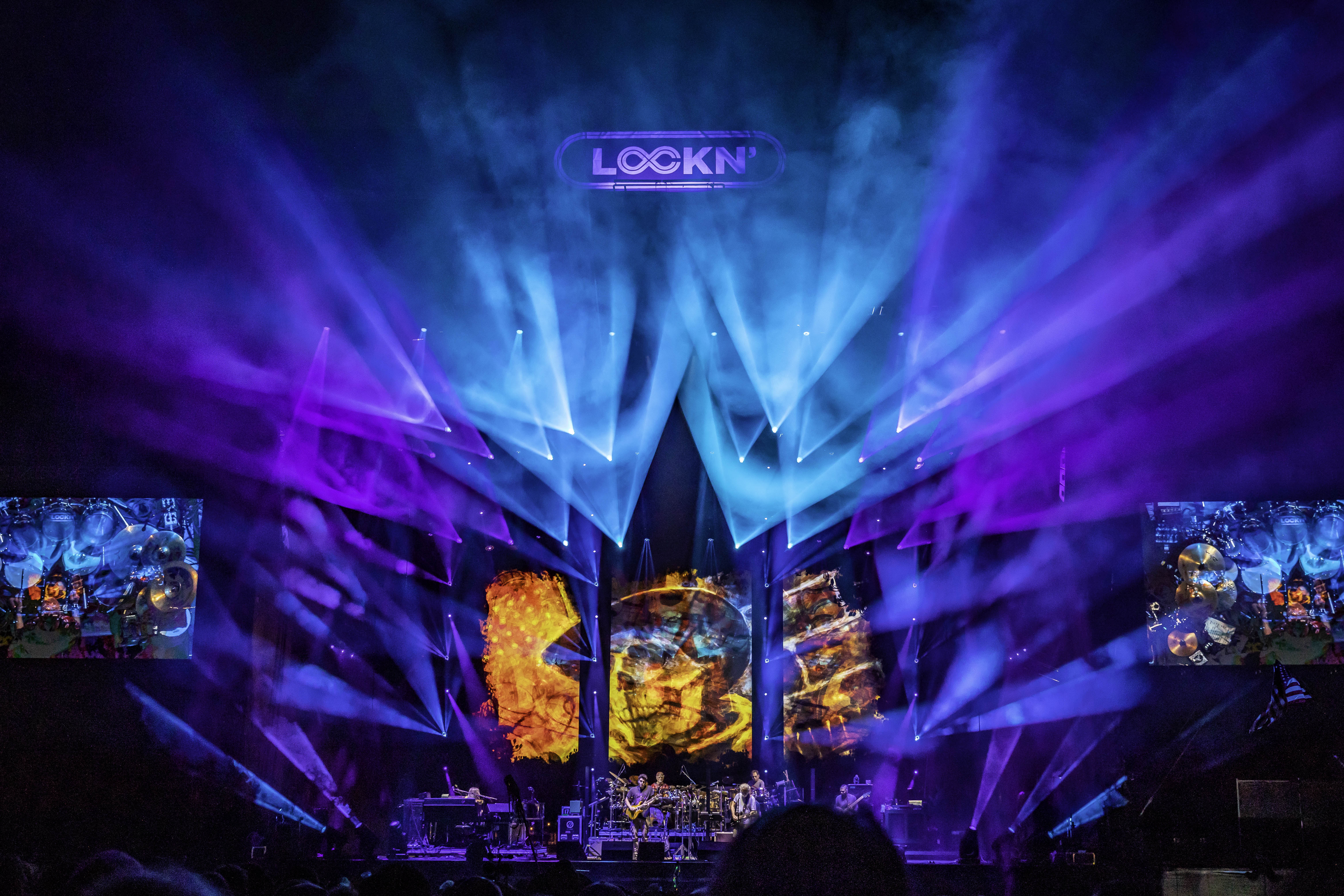 Chris Ragan of BML-Blackbird Boldly Lights The Stages of Lockn' Festival