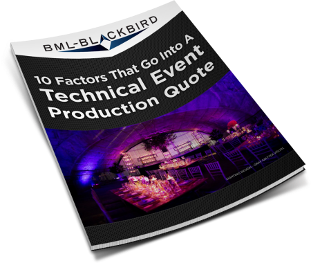 technical event production quote