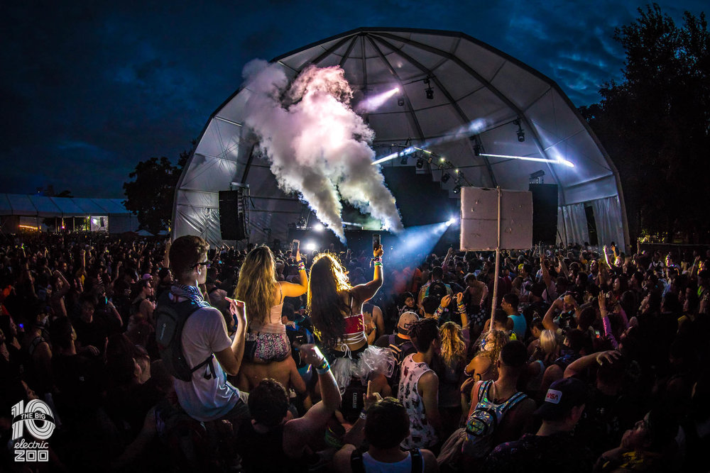 BML-Blackbird  Provides Lighting and Video Support at Electric Zoo