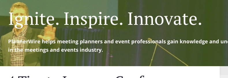 event planning blogs